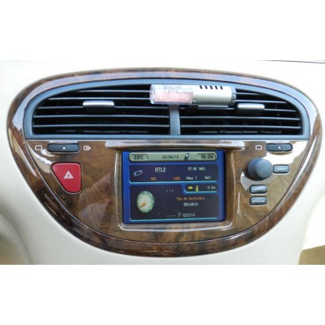 Ecran GPS unité d'affichage couleur pour Peugeot 607 ref 96 312 410 80 / 9631241080 / 9022 014 52659  / 22 SY 452/65