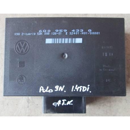 Boitier confort / Commande centralisée pour système confort ref 6Q0959433G