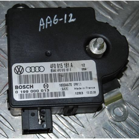 Calculateur de surveillance et gestion batterie pour Audi A6 ref 4F0915181A / 4F0910181E / 4F0915181B