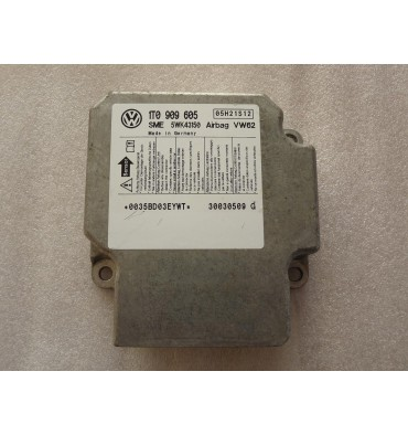 Calculateur d'airbag ref 1T0909605 / 1T0909605A / 1T0909605B / 1T0909605C