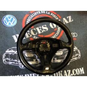 Volant cuir noir pour Audi A4 / A6 / A8 ref 4B0419091BG / 4B0419091BH