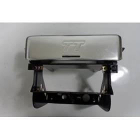 Console centrale en aluminium poli pour audi TT  ref 8N0863239C 9QM / 8N0863239E 01C