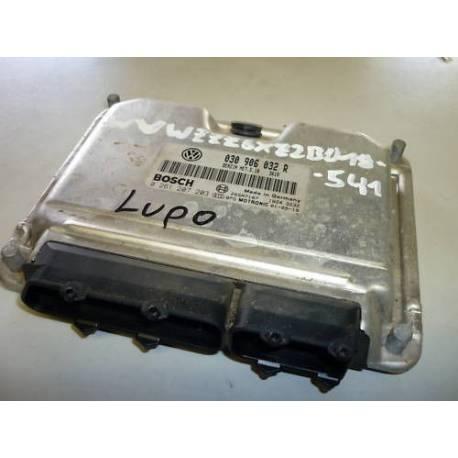 Calculateur injection moteur pour VW Lupo 1L4 essence ref 030906032R / 030997032PX / 0261207203 / 0 261 207 203