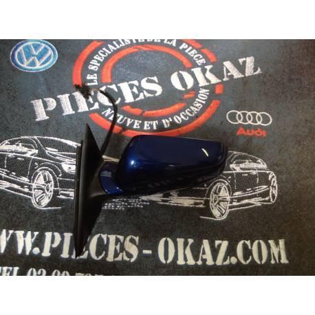Rétroviseur conducteur pour VW Passat 3B coloris bleu LC5X