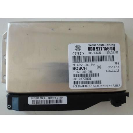 Calculateur électronique pour boite de vitesses automatique 5 rapports VW Passat ref 8D0927156DQ / Ref Bosch 0260002785