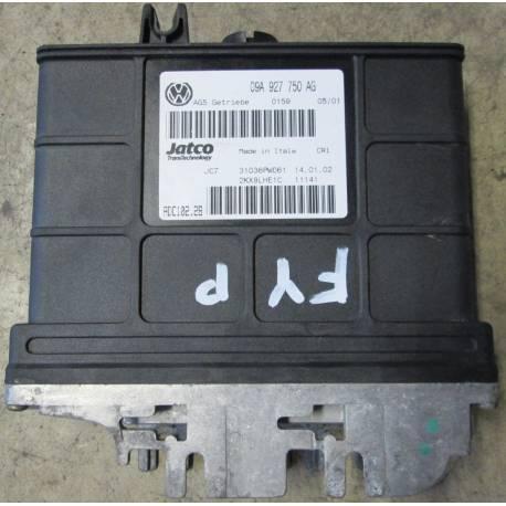 Calculateur électronique pour boite de vitesses automatique 5 rapports ref 09A927750AG / Ref Jatco 31036PW066