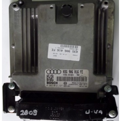 Calculateur moteur ref 03G906016FE / 03G997016SX ref Bosch 0281 012 127