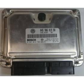 Calculateur moteur Seat Cordoba / Ibiza / Skoda Fabia 1L4 TDI BNV ref 045906019BQ / Ref Bosch 0281012708