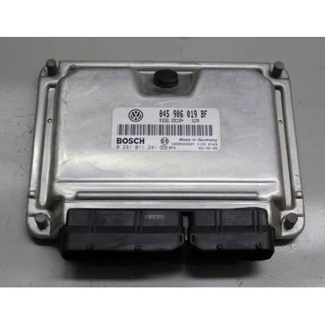 Calculateur moteur ref 045906019BF réf Bosch 0281011241