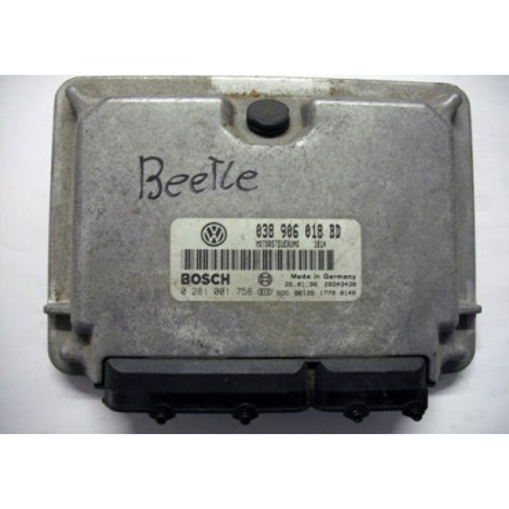 Calculateur moteur ref 038906018BD réf bosch 0281001758