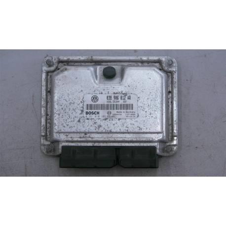 Calculateur moteur ref 038906012AR réf Bosch 0281010109