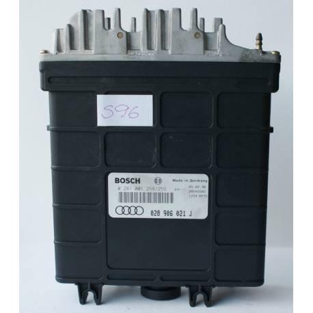 Calculator motor para Audi A6 / Cabriolet 1L9 TDI 1Z / AHU ref 028906021J / 028906021GC / Ref Bosch 0281001258 / 0281001259