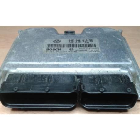 Calculateur moteur ref 045906019BG réf Bosch 0281011244