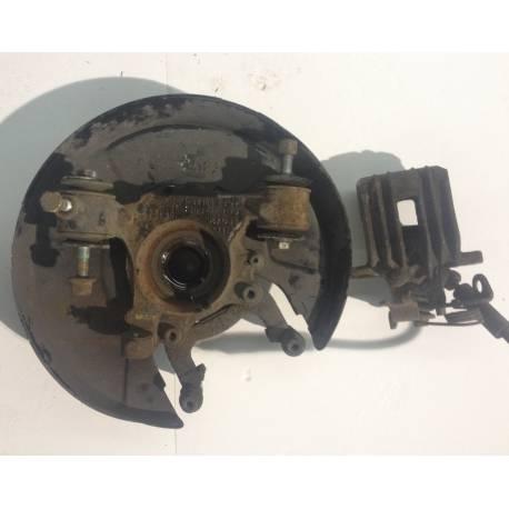 Fusée cache roulement arrière passager + étrier de frein pour Audi A6 Quattro ref 8E0505436P / 8E0615424A