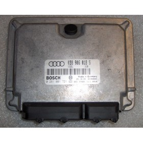 Calculateur injection pour Audi A4 B5 1L9 TDI cv AFN ref 038906018S / Ref Bosch 0281001721