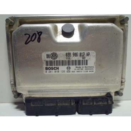 Calculateur moteur ref 038906012AP / Ref Bosch 0281010126 / 0 281 010 126