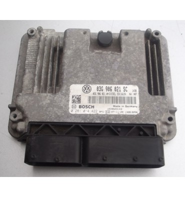 Calculateur moteur ref 03G906021SC / Ref Bosch 0281014422 / 0 281014422