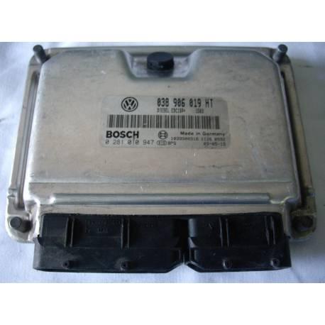 Calculateur moteur ref 038906019HT / Ref Bosch 0281010947 / 0 281 010 947