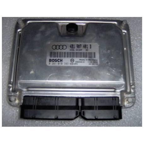 Calculateur moteur ref 4B1907401B / 4B1997401BX Ref Bosch 0281010393 / 0 281 010 393