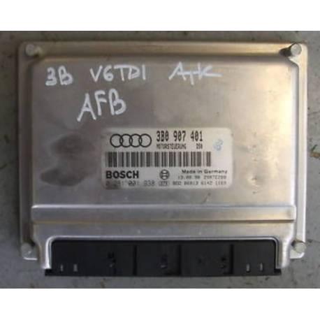 Calculateur moteur ref 3B0907401 / 3B0907401F / Ref Bosch 0281001938 / 0 281 001 938