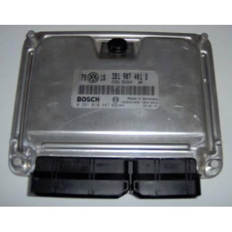 Calculateur moteur ref 3B0907401B / Ref Bosch 0281010447 / 0 281 010 447