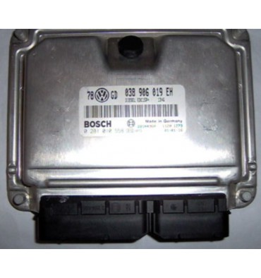 Calculateur moteur ref 038906019EH / Ref Bosch 0281010558 / 0 281 010 558