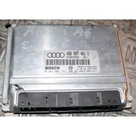Calculateur moteur ref 4B0907401K / 4B0907401P / 4B0907401AC / 4B0997401BX / Ref Bosch 0281001931 / 0 281 001 931