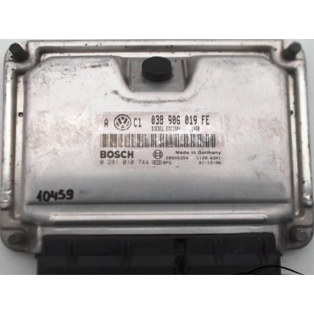 Calculateur injection moteur ref 038906019FE / Ref Bosch 0281010744 / 0 281 010 744