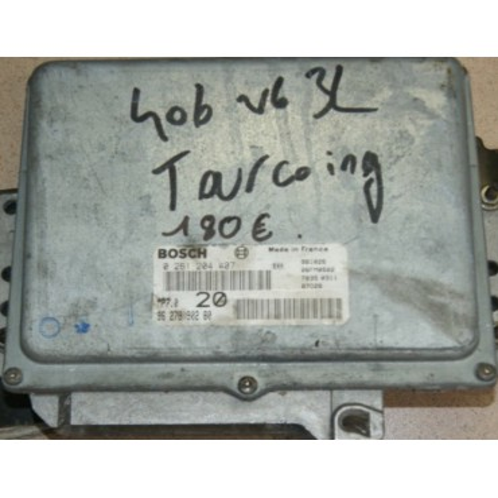 Calculateur moteur pour Peugeot 406 V6 3L réf 9627890280 réf bosch 0261204407 / 0 261 204 407