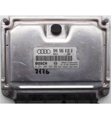 Calculateur moteur ref 8N0906018Q / 8N0997018HX / Ref Bosch 0261206439 / 0 261 206 439