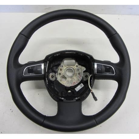 Volant sport multifonctions en cuir pour Audi A4 / A5 ref 8T0419091B WUL
