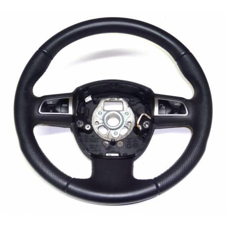 Volant sport multifonctions en cuir pour Audi A3 / A4 Q5 ref 8R0419091G TNA
