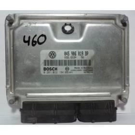 Calculateur moteur VW Polo 1L4 TDI BNM 68 cv ref 045906019BP / Ref Bosch 0281012194 / 0 281 012 194