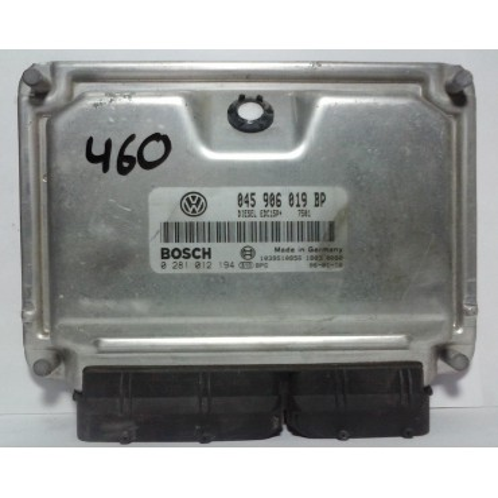 Calculateur moteur pour VW Polo 1L4 TDI BNM 68 cv ref 045906019BP / Ref Bosch 0281012194 / 0 281 012 194
