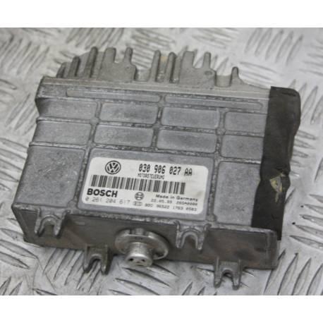 Calculateur moteur pour VW Polo 1L4 mpi ref 030906027AA / 030997027X / Ref Bosch 0261204617 / 0 261 204 617