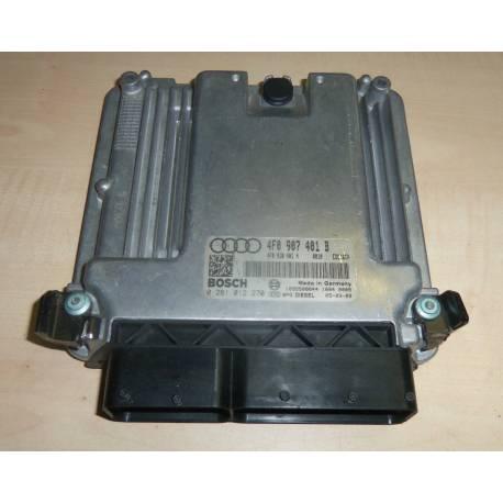Calculateur moteur pour Audi A6 2LT BPP ref 4F0907401B / 4F2910402C / 4F0910402CX Ref Bosch 0281013178