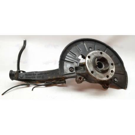 Pivot de fusée avant conducteur + roulement pour Porsche cayenne ref 95534115510 / 95534190100