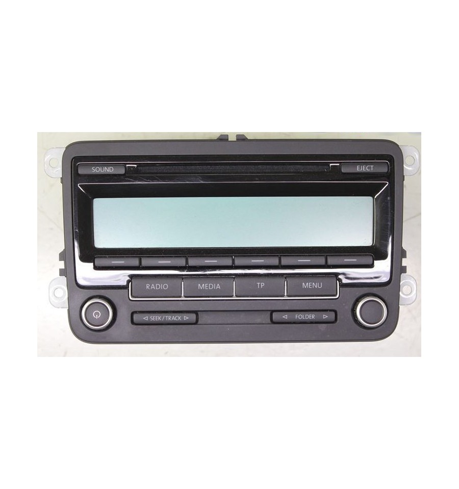 autoradio cd rcd 310 pour vw ref 1k0057186aa 1k0057187ax. Black Bedroom Furniture Sets. Home Design Ideas
