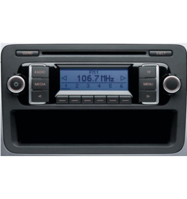 Autoradio CD RCD 210 pour VW ref 5M0035156D / 5M0035156DX