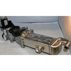 Cooler of exhaust gas with valve / Gate EGR ref 03L131512BJ / 03L131512CF / 03L131512DQ / Ref 0280751016