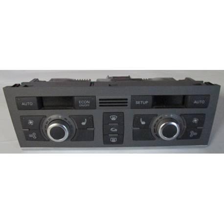Unité de commande d'affichage pour climatiseur / Climatronic pour Audi A6 4F ref 4F1820043S / 4F1820043AJ / 4F1820043AJ 1HA
