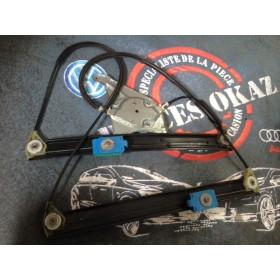 Mécanisme de lève-vitre + moteur avant conducteur pour Audi A3 8L ref 8L3837461