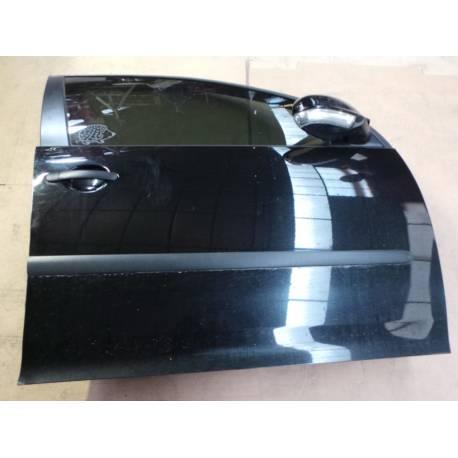 Porte avant passager modèle 5 portes pour VW Golf 5 coloris noir L041 ref 1K4831106G + 1K4831302AB
