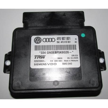 Calculateur pour frein de stationnement ref 4F0907801 / 4F0910801 / 4F0910801A / 4F0910801B / 4F0910801C / 4F0910801D