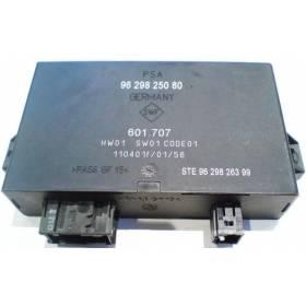 Calculateur d'aide au stationnement pour ref 96 298 250 80 / 9629825080 / Ref 601.707
