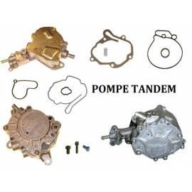 - POMPE TANDEM / POMPE D'ALIMENTATION EN CARBURANT / POMPE A VIDE / POMPE A CARBURANT ET A DEPRESSION