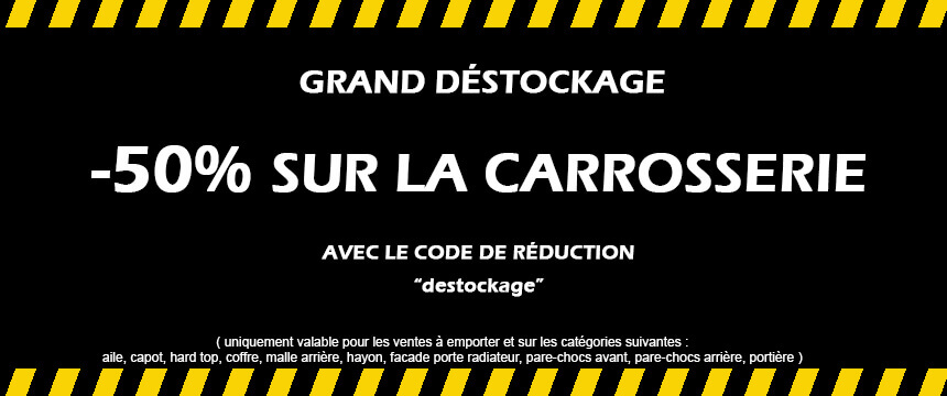 destockage carrosserie