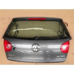 Malle arrière hayon / coffre pour VW Golf 5 coloris gris titane / United grey code peinture LA7T