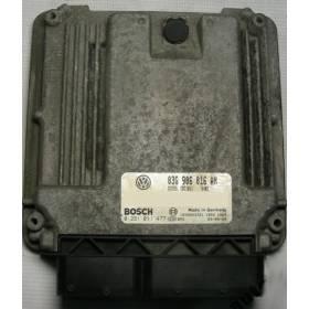 Calculateur moteur VW Golf 5 ref 03G906016AN / 03G906016ET / ref Bosch 0281011477