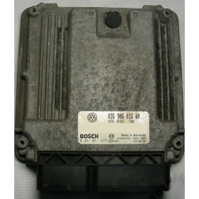 Engine control / unit ecu motor VW Golf 5 ref 03G906016AN / 03G906016ET / ref Bosch 0281011477